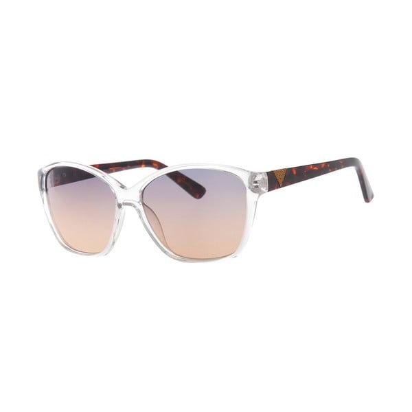 Slnečné okuliare Guess White/Brown 49
