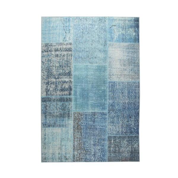 Modrý koberec EkoRugs Oina,  140x200cm