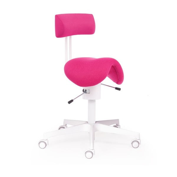 Kancelárske kreslo Ergo Flex WT, ružové