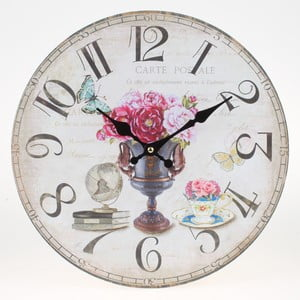 Nástenné hodiny Lovely Flowers