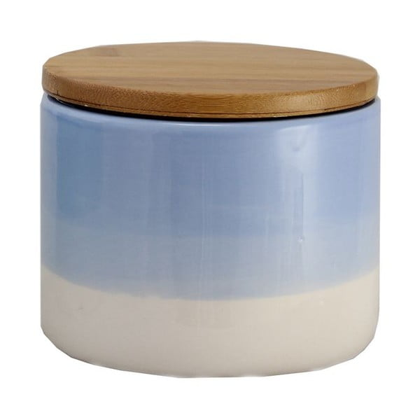 Keramická dóza Majken Small Blue/White