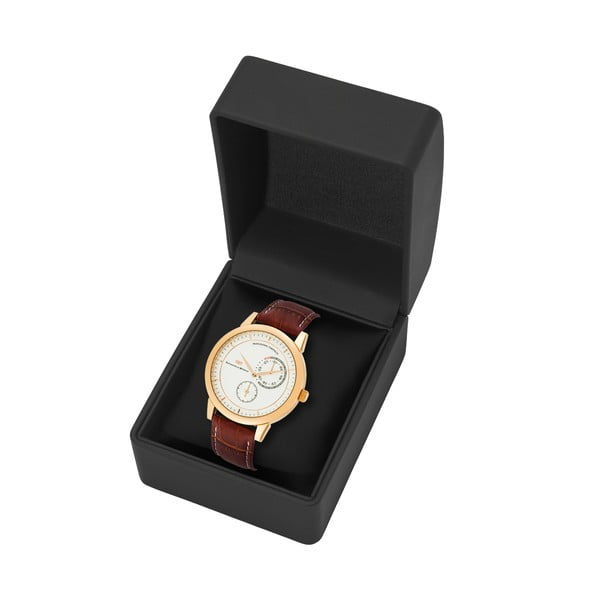 Pánske hodinky Rhodenwald&Söhne Levantos Gold/Leather