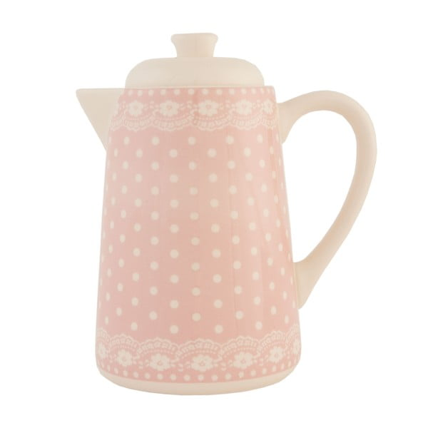 Keramická čajová kanvica Clayre Roses