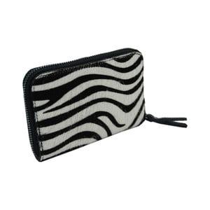 Peňaženka z pravej hovädzej kože so vzorom Andrea Cardone Zebra