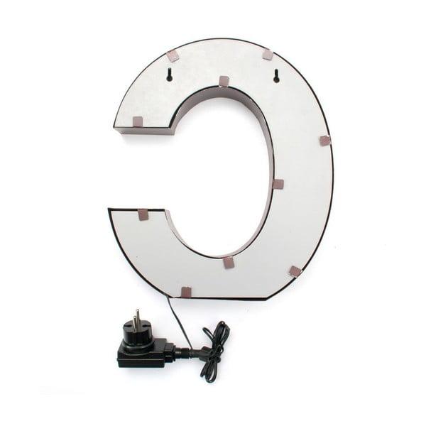 Svetelná LED dekorácia Letter C