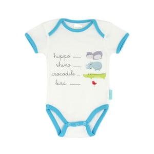 Detské body Hippo s krátkym rukávom, 3 až 6 mesiacov