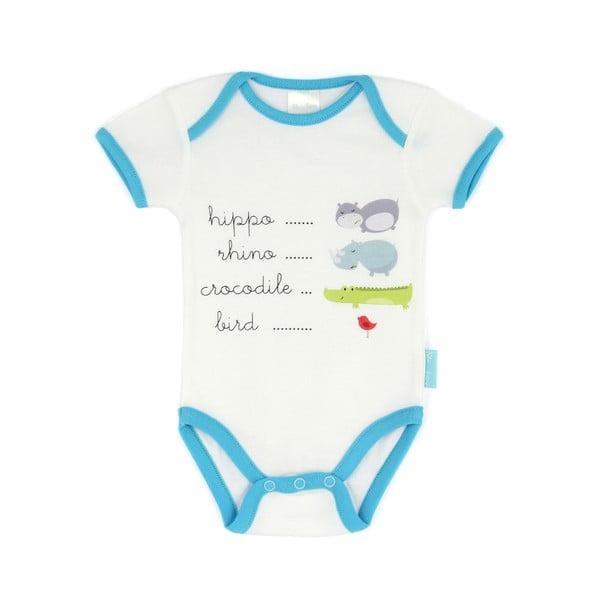 Detské body Hippo s krátkym rukávom, 6 až 9 mesiacov