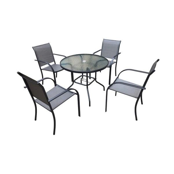 Set záhradného kovového nábytku Timpana Milo