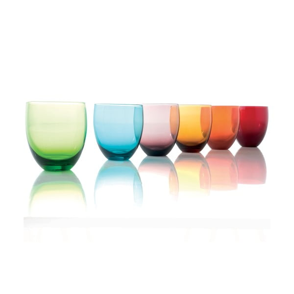 Sada 6 pohárov Bocchiere