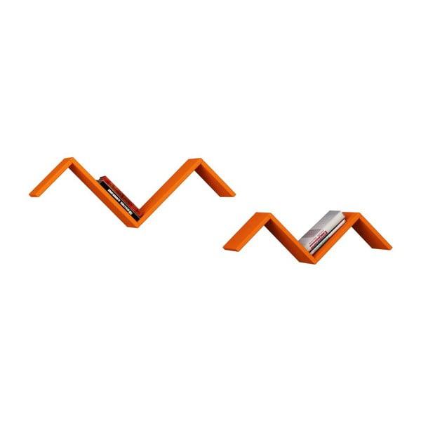 Sada 2 políc Marti, oranžová