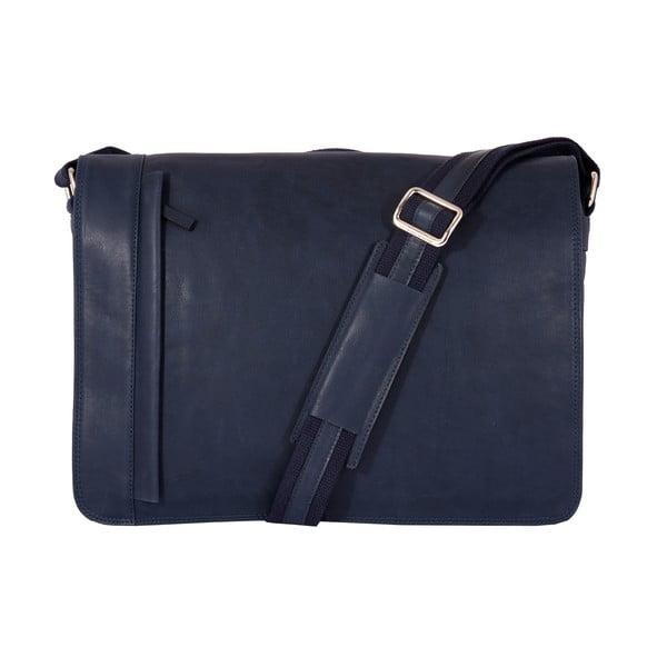 Pánska messenger taška Vintage Ocean Blue