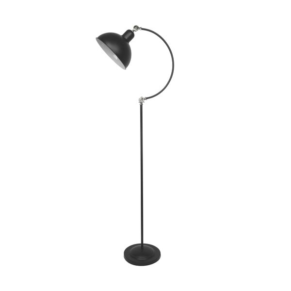 Stojací lampa Old, čierna