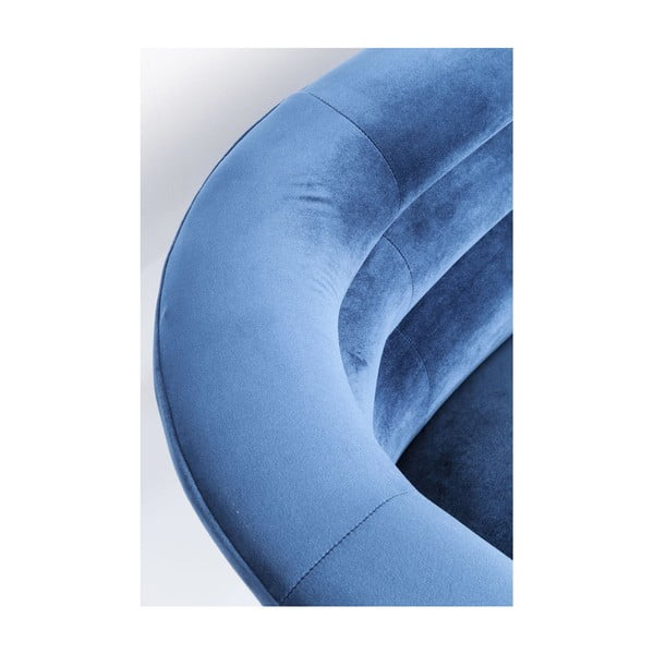 Modrá dvojmiestna pohovka Kare Design Monaco
