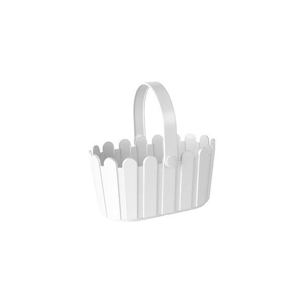 Kvetináč Landhaus Basket White