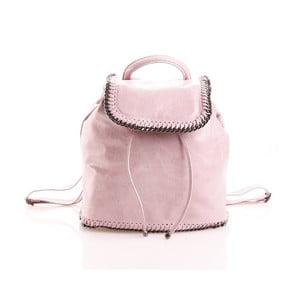 Kožený batôžtek Emily, ružový