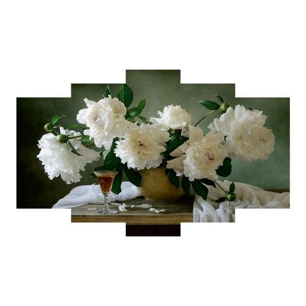 5-dielny obraz Floral