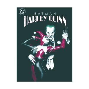 Obraz Pyramid International DC Joker & Harley Quinn Dance, 60 × 80 cm