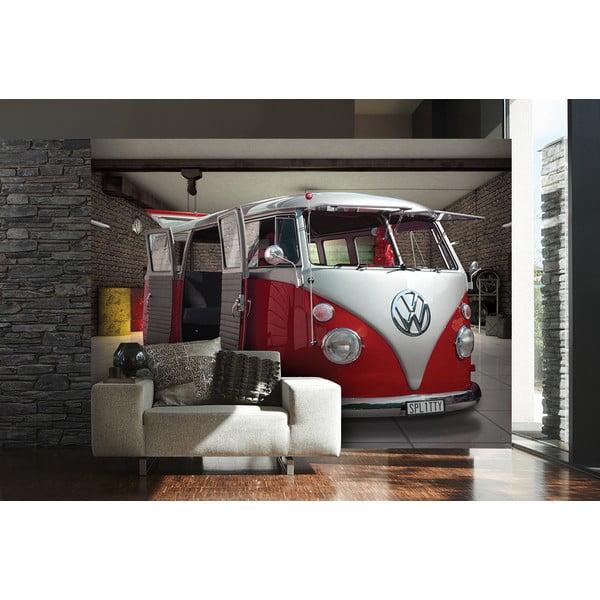Veľkoformátová tapeta Červený VW, 315x232 cm
