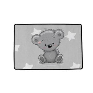 Koberec Mr. Little Fox Grey Teddy, 90x60cm