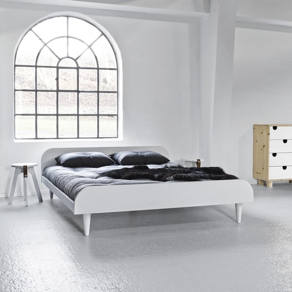 Posteľ Karup Design Twist White, 180 × 200cm