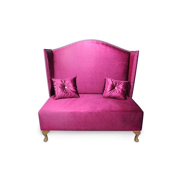 Pohovka Pompadour, ružová