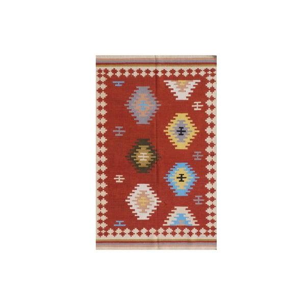 Vlnený koberec Kilim No. 735, 155x240 cm