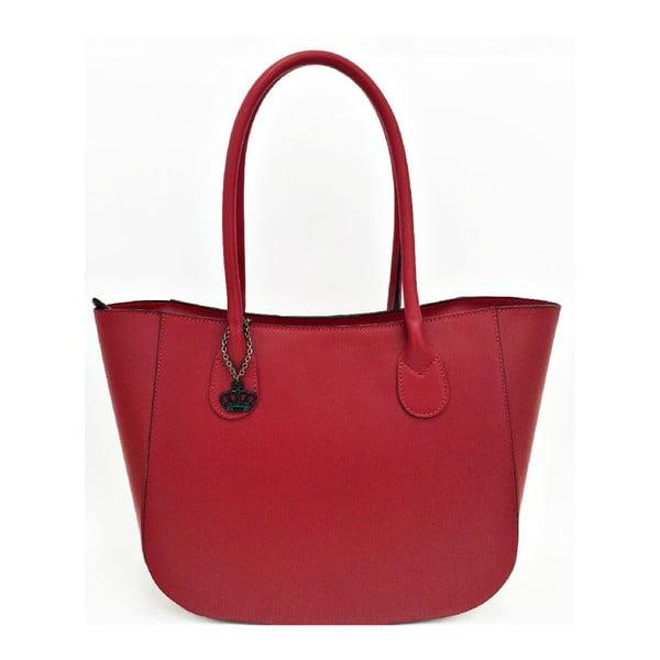 Kožená kabelka Mina Red