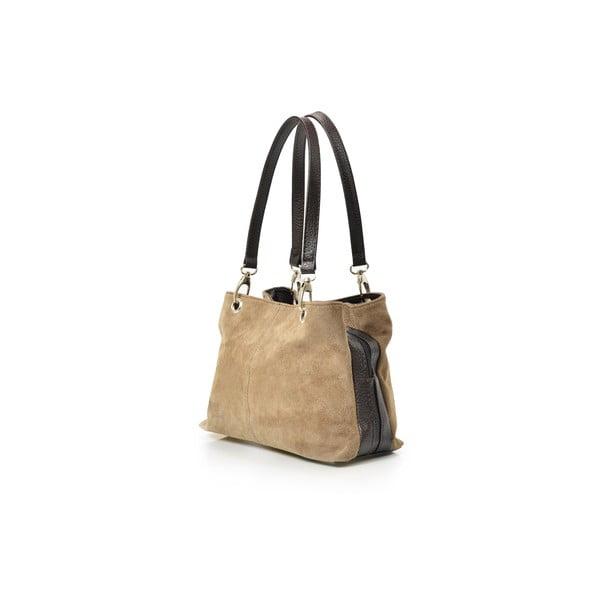 Kožená kabelka Gigi, taupe