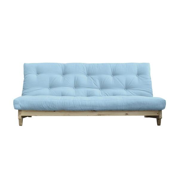 Rozkladacia pohovka Karup Design Fresh Natural/Light Blue