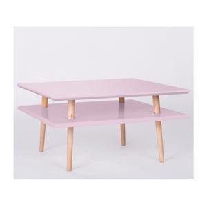 Konferenčný stolík UFO Square Pink, 35 cm