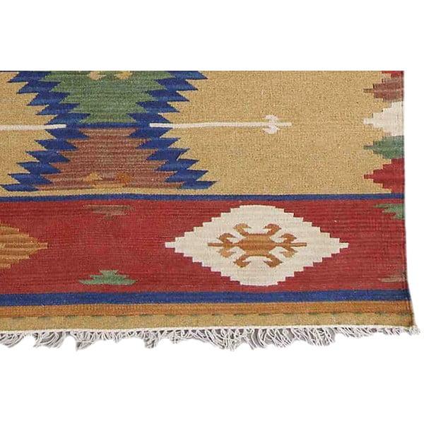 Ručne tkaný koberec Kilim Classic K77, 125x185 cm
