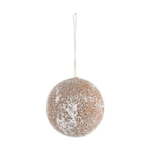 Závesná dekorácia J-Line Ball, ⌀ 12 cm