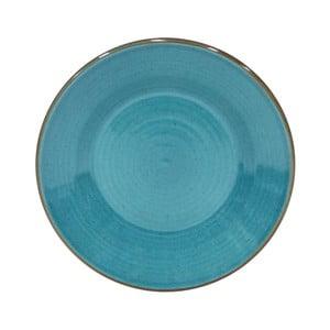 Modrý dezertný tanier z kameniny Casafina Sardegna, ⌀ 24 cm
