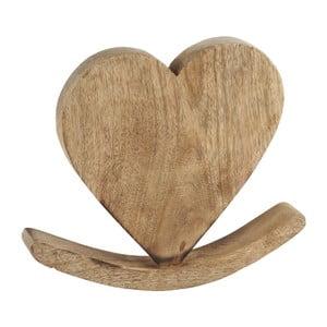 Dekorácia Athezza Heart Balance, 24 cm
