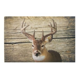 Predložka Deer on Wood 75x50 cm