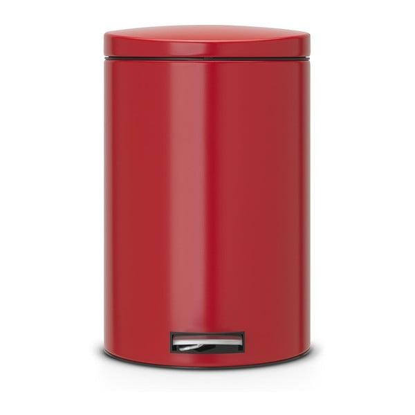 Pedálový kôš Pedal Bin 20 l, vášnivá červená
