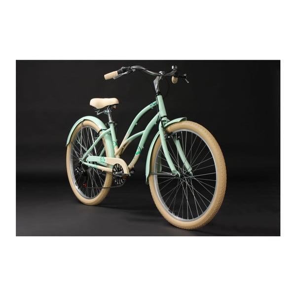 Bicykel Beachcruiser Kahuna Green 26'', výška rámu 40 cm
