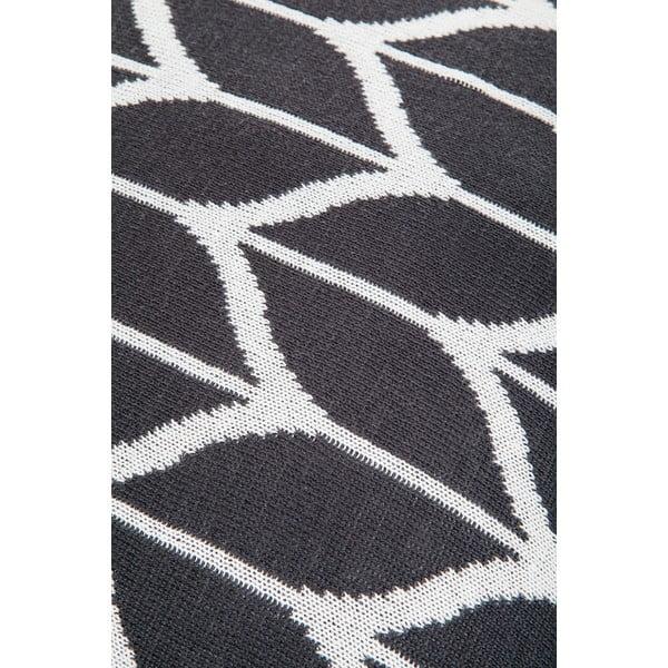 Vankúš s výplňou Grey and White 8, 43x43 cm