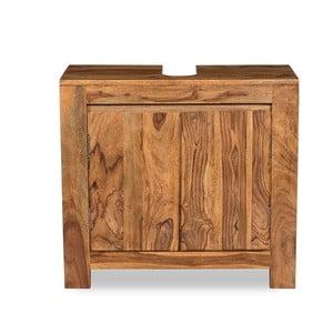 Skrinka pod umývadlo z palisandrového dreva Woodking Lee