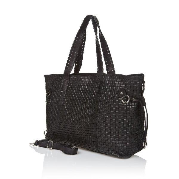 Kožená kabelka Markese 1156 Black