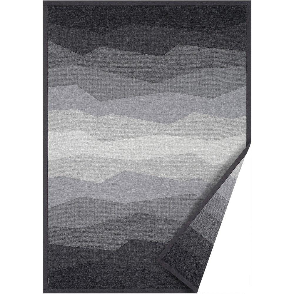 Sivý obojstranný koberec Narma Merise, 100 x 160 cm