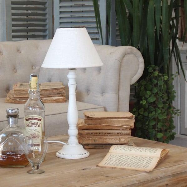 Stolná lampa White Antique Milano
