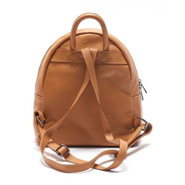 Kožený batôžtek Mangotti 1166 Cognac