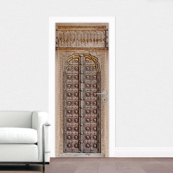 Samolepka na dvere Brána