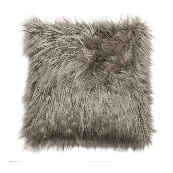 Vankúš Faux Fur Grey, 45x45 cm