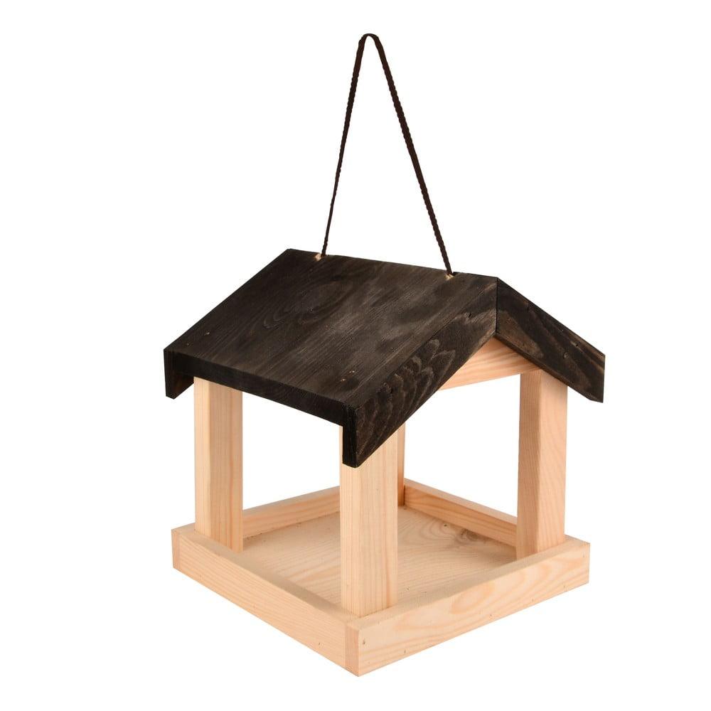 Drevené zásvesné kŕmidlo pre vtáctvo Esschert Design