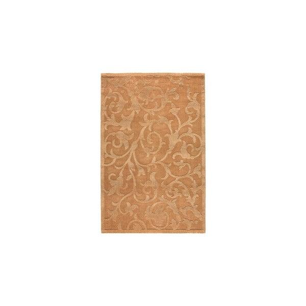 Vlnený koberec Dama no. 633, 120x160 cm, krémový