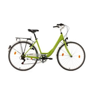 "Bicykel City Bike Milano Green 28"", výška rámu 49 cm"