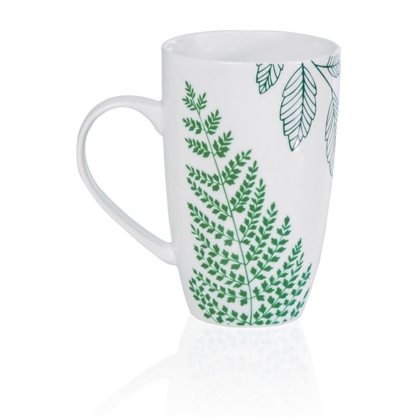 Porcelánový hrnček Sabichi Evergreen, 380 ml