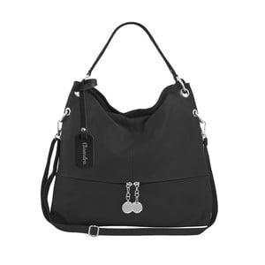 Čierna kožená kabelka Maison Bag Evelyne